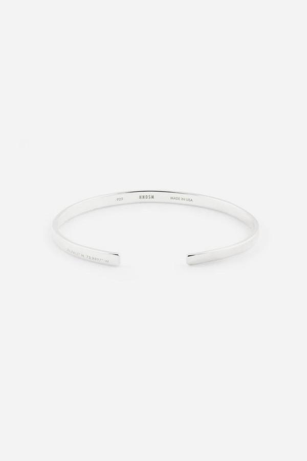 HNDSM Sterling Silver New York Bracelet