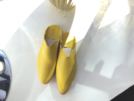 Carrie Forbes Babouche Slipper - Yellow