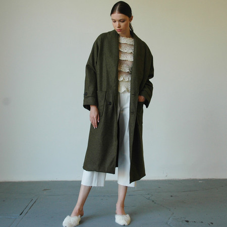 Nikki Chasin Lozano Shawl Collar Coat