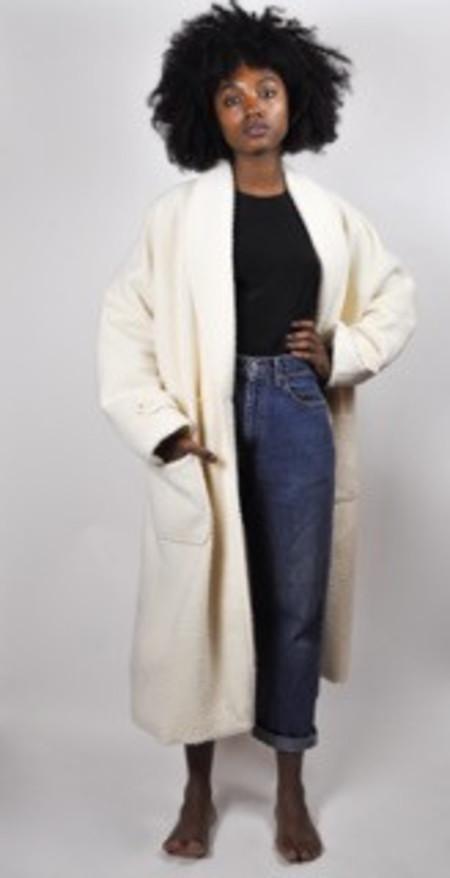 Nikki Chasin Nubby Lozano Shawl Coat