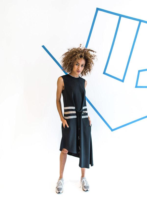 CF. Goldman Multi-Pull Dress