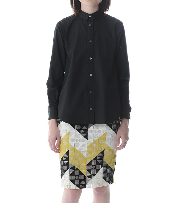 Sacai Luck Lace Back Blouse