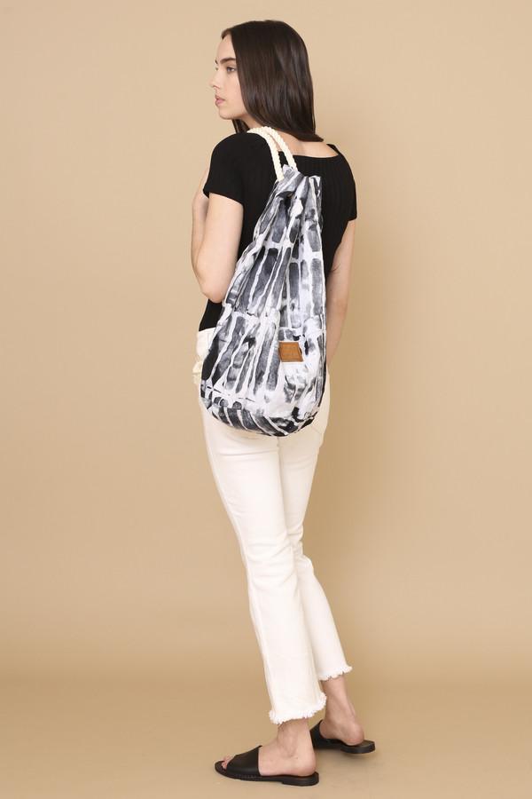 Osei-Duro Onere Backpack in Black Chalk