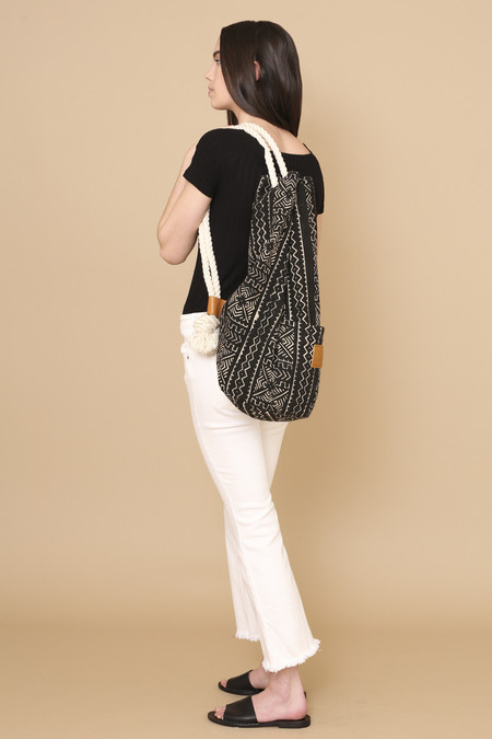 Osei-Duro Onere Backpack in Mudcloth