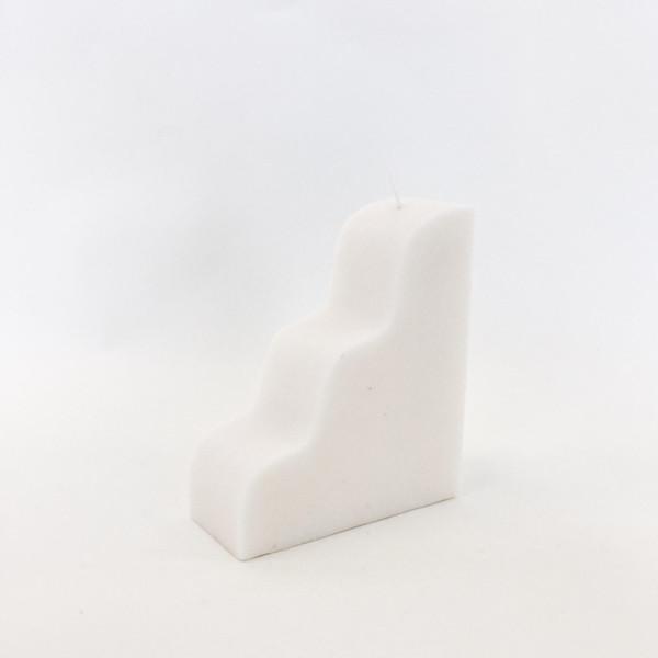 MURU White Gjetost Candle
