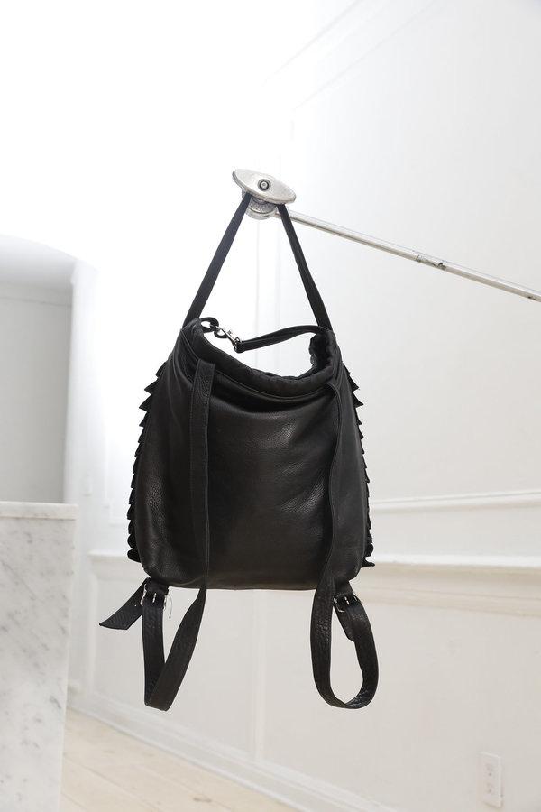 Collina Strada Siesta Sac Black Leather