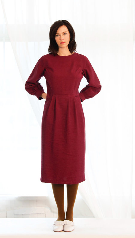 Sunja Link  Gusset Sleeve Dress