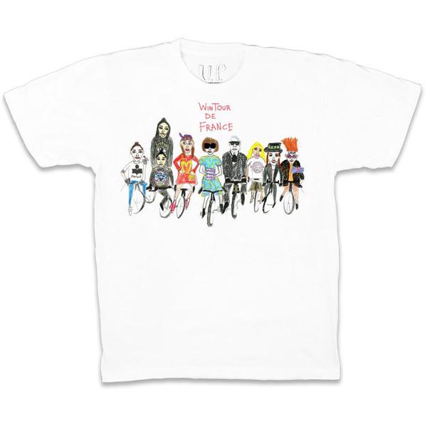 UNFORTUNATE PORTRAIT Wintour De France T-shirt