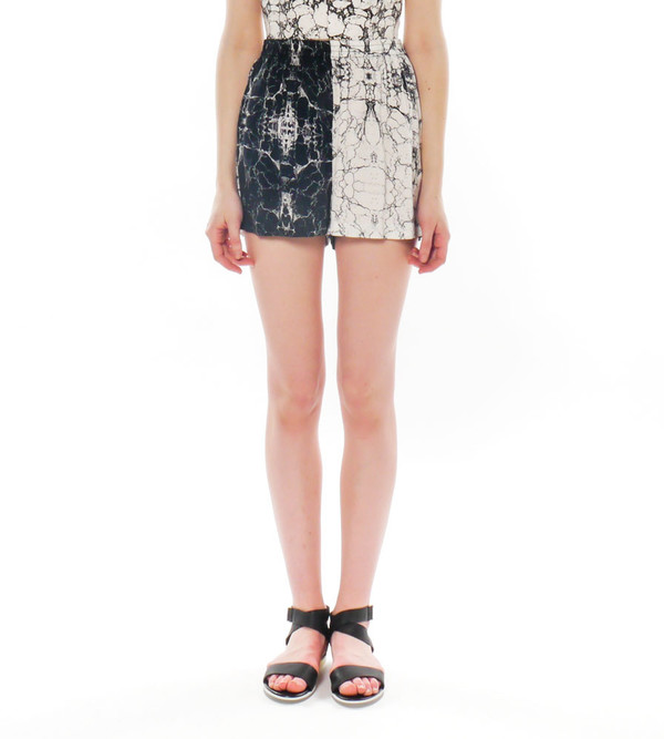 Shakuhachi Marble Print Boxer Shorts