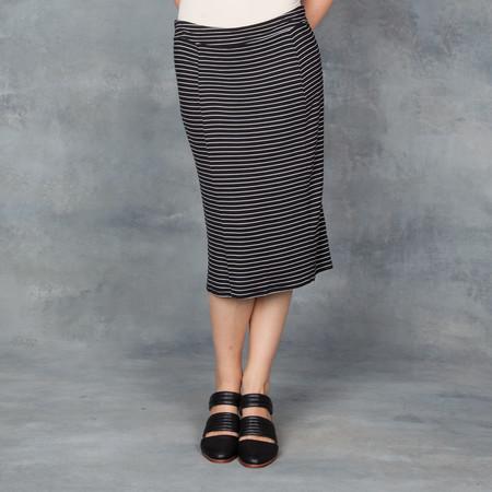 Bella Luxx Hamburg Paneled Midi Skirt