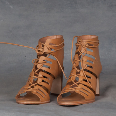 Matt Bernson Leather Gladiator Lace Up