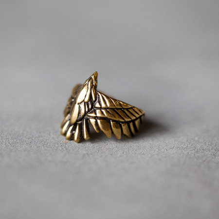 Pamela Love Ring Aguila Brass Ring