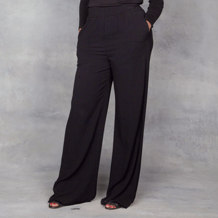 Raquel Allegra High Waist  Wide Leg Pant
