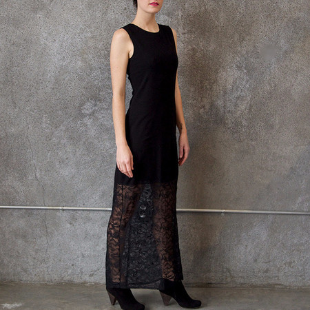 Raquel Allegra Mojave Dress with Lace