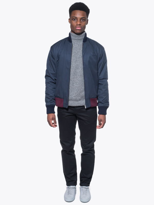 Raf Simons X Fred Perry Padded Bomber Jacket