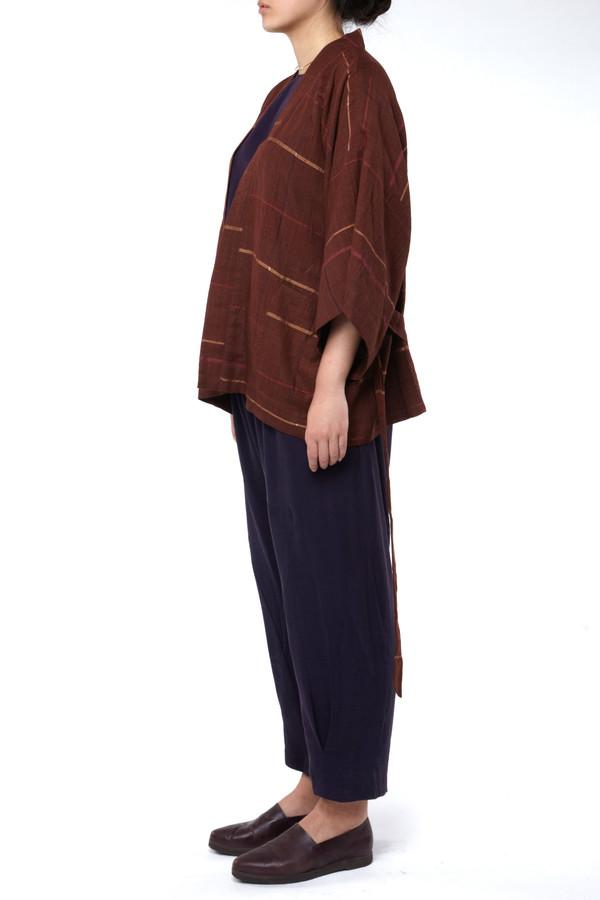 Seek Collective Sandy Kimono Jacket Malbec Weave