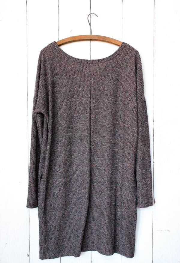 Goldspark Blush Sweater Dress