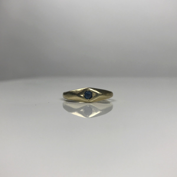 Mercurial NYC Inverted Signet Ring