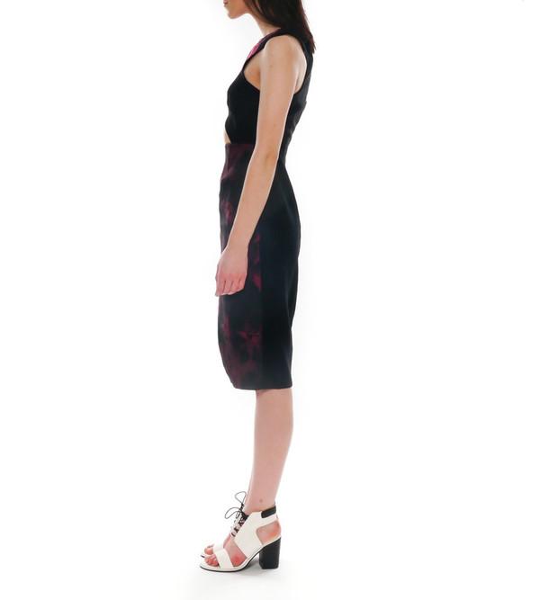 Shakuhachi Petal Cutout Dress