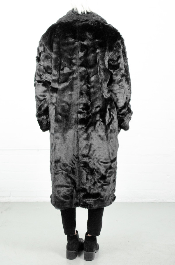 Assembly New York Assembly Faux Fur Full Robe Coat