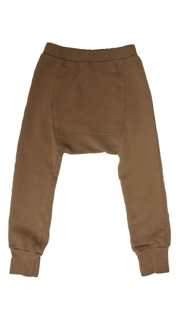 Kid's Mimobee Lowrider Harem Leggings - Cocoa