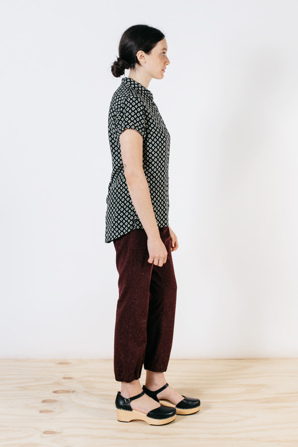 Bridge & Burn Jogger Burgundy Speckle