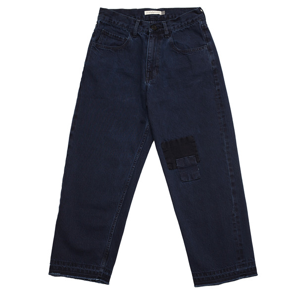 Olderbrother Hand Me Down - Patched Denim - Dark Indigo