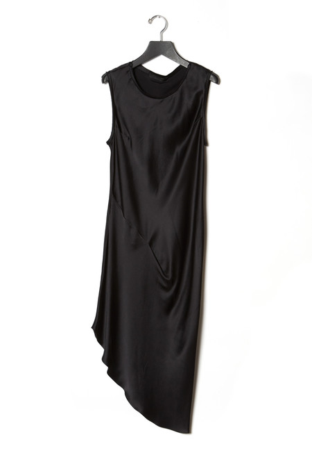 KES Asymmetric Drape Dress