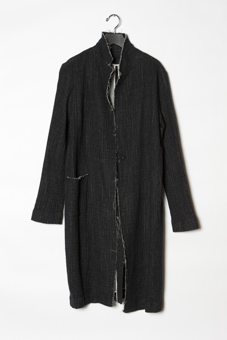 KES Felted Wool Raw Edge Coat