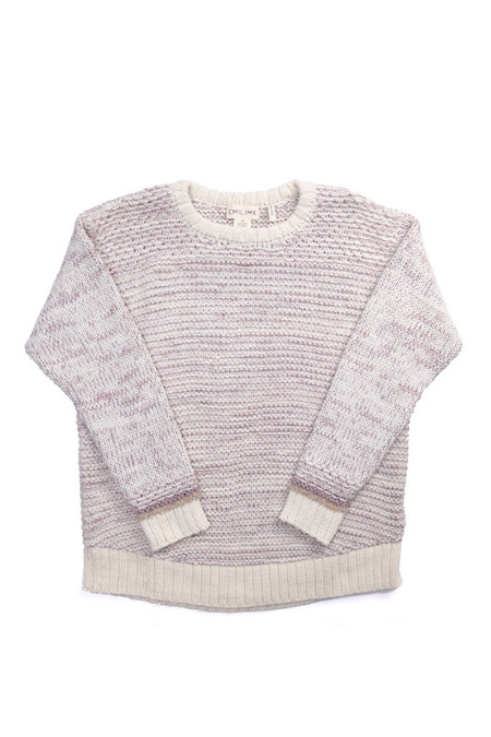 EMILIME Wall Sweater Soft Lavender