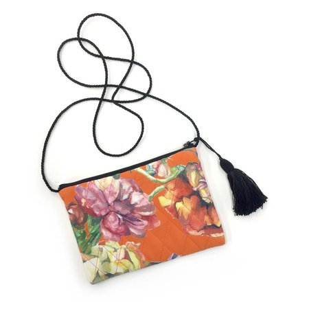 Strathcona Fire Floral Little Silk Purse