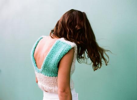 Nahanni Arntzen Knit crop top