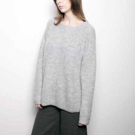 7115 by Szeki Mohair Pullover Sweater - Mist FW16