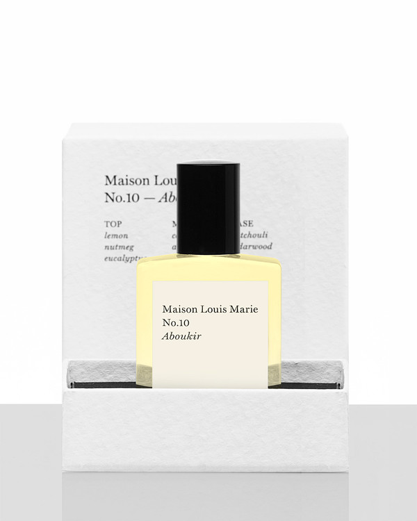 Maison Louis Marie No.10 Aboukir - Perfume oil