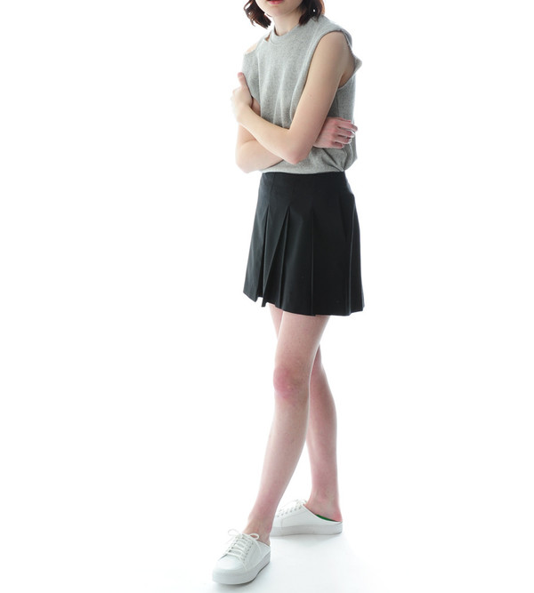Public School Short Pleated Skirt