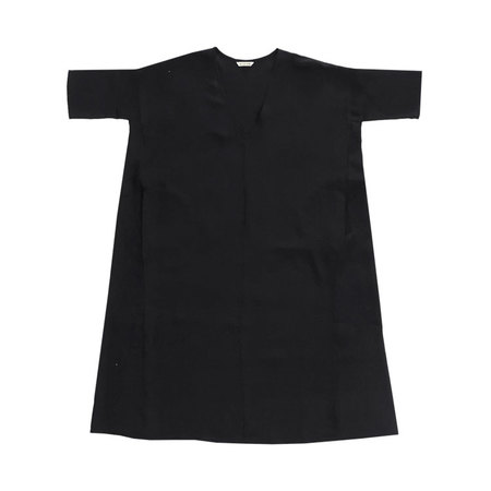 Ali Golden Kimono Dress - Black