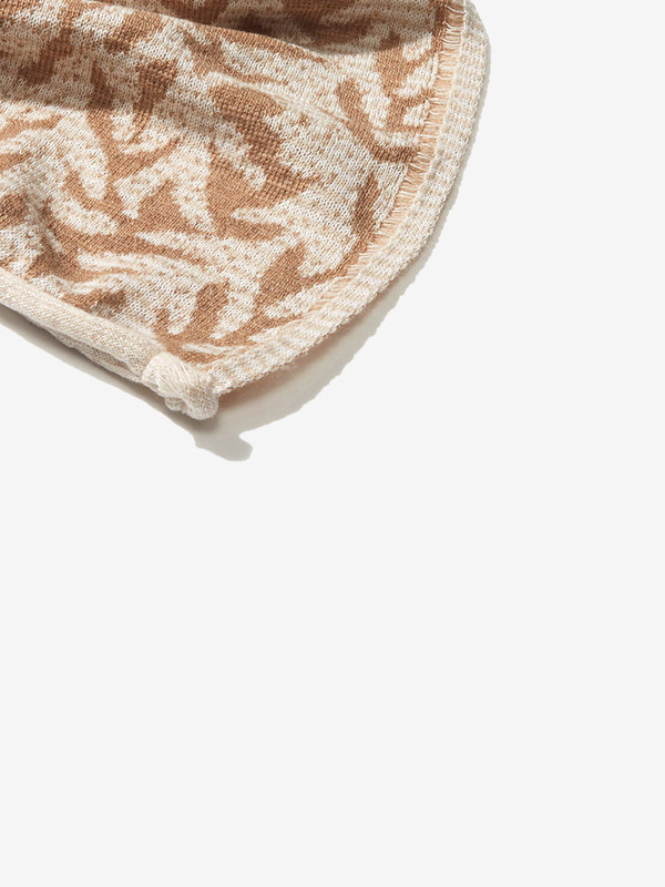 Emdal Colorknit Creme Tara Kimono Scarf