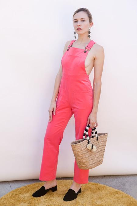 Lykke Wullf Dusty Overalls Pink Flamingo Corduroy