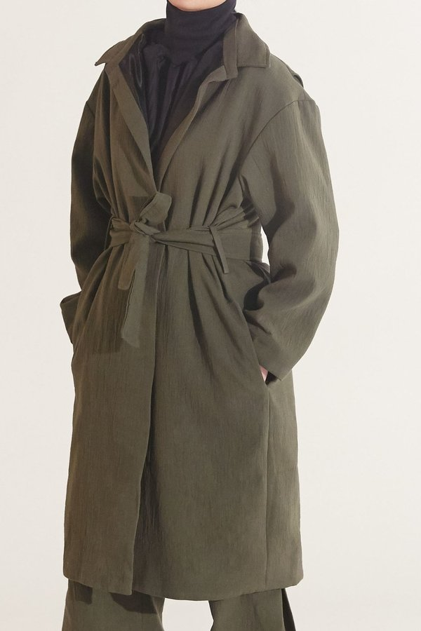 House of 950 trench coat