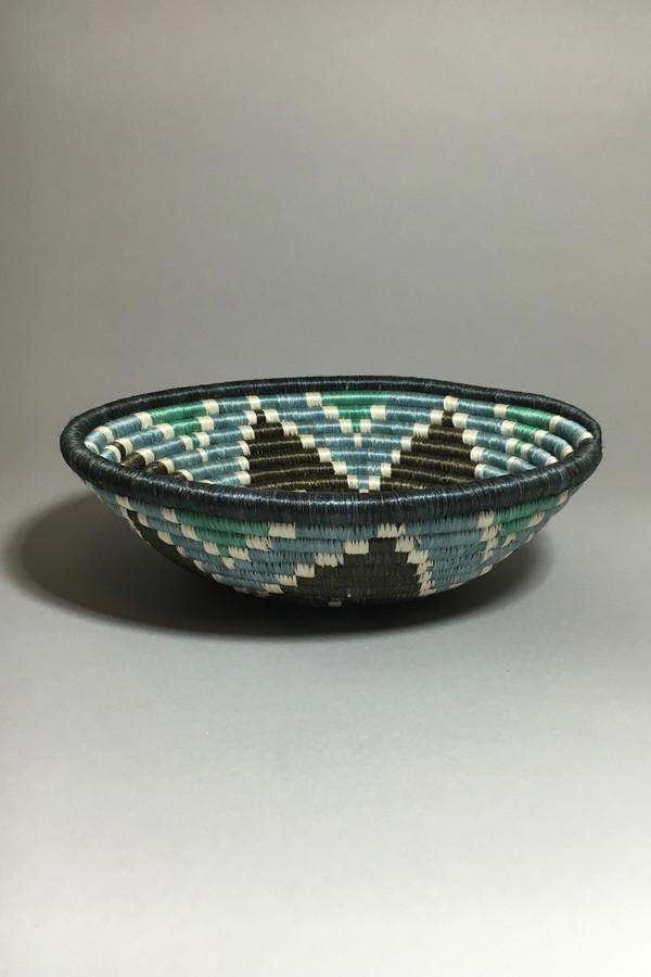 All Across Africa Medium Ocean Mist Hope Basket