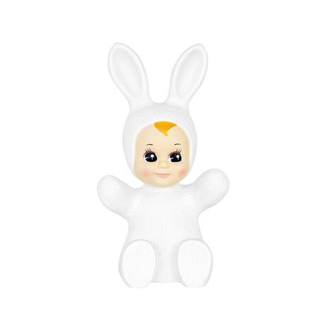 Goodnight Light Bunny Baby Night Light, White - CouCou Boston