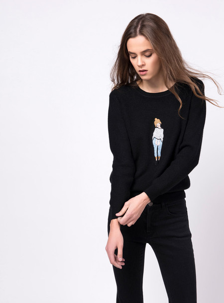 Series Noir Emma Sweater