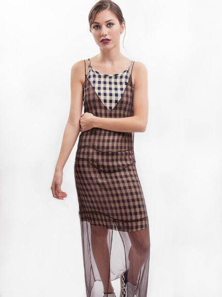 HOH Curate Vintage Check Dress