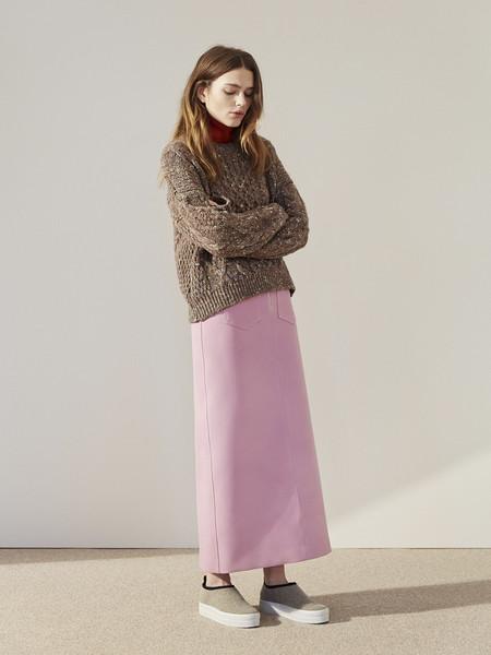 Nanushka 70's 'O' Ring Zip Skirt