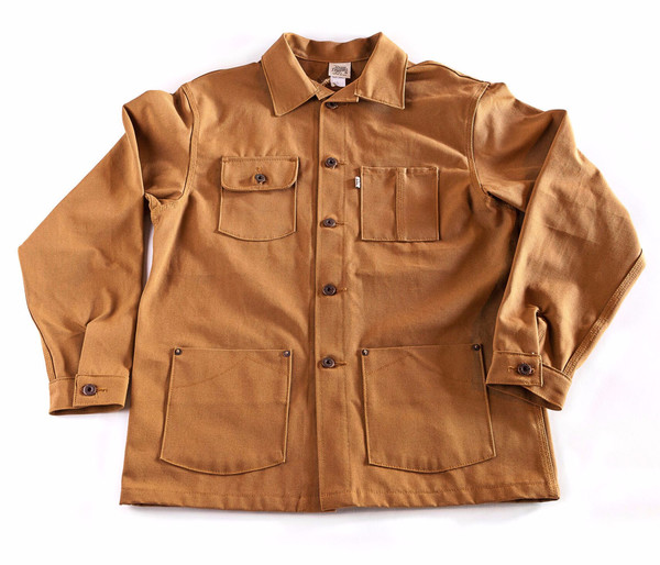 Men's Railcar Fine Goods Chore Coat Duck Canvas