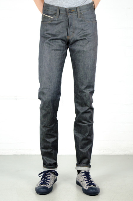 Men's Naked & Famous Wax Coated Selvedge Super Skinny Guy