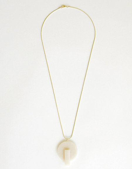 HighLow Form Necklace