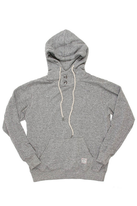 Men's Iron & Resin Todos Santos Pullover Grey