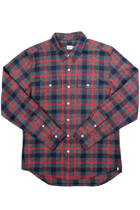 Men's Bridge & Burn Franklin Charcoal Plaid