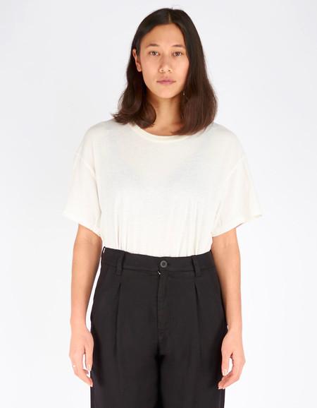 Lacausa Vintage Tall T-Shirt Panna Cotta